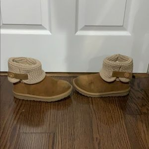 Ugg Australia Chestnut Darah Knit sheepskin boot 3